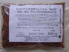 Räucherpulver rot für Fisch 200g