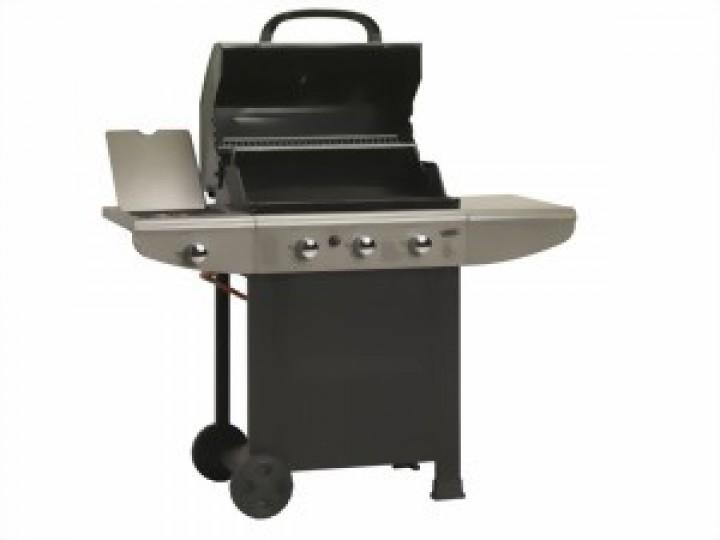 gasgrill 3 brenner seitenbrenner grill smoker. Black Bedroom Furniture Sets. Home Design Ideas